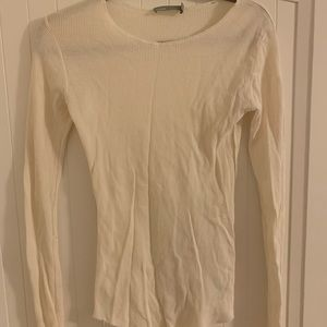 Vince White Thermal Size Small
